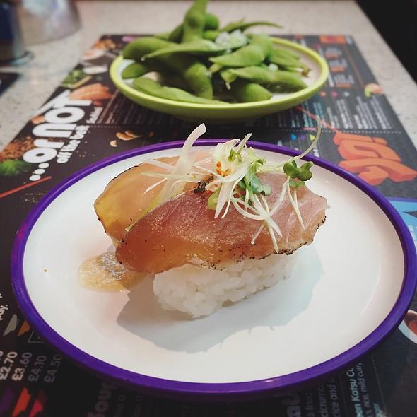 Albacore Tuna & Truffle Nigiri
