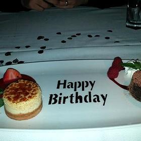 Birthday Dessert Sampler