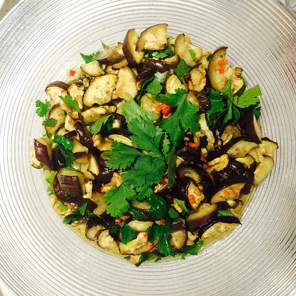 Aubergine Salad  @ Pe's Kitchen
