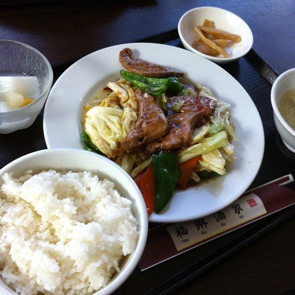 Stir Fried Pork Liver And Cabbage