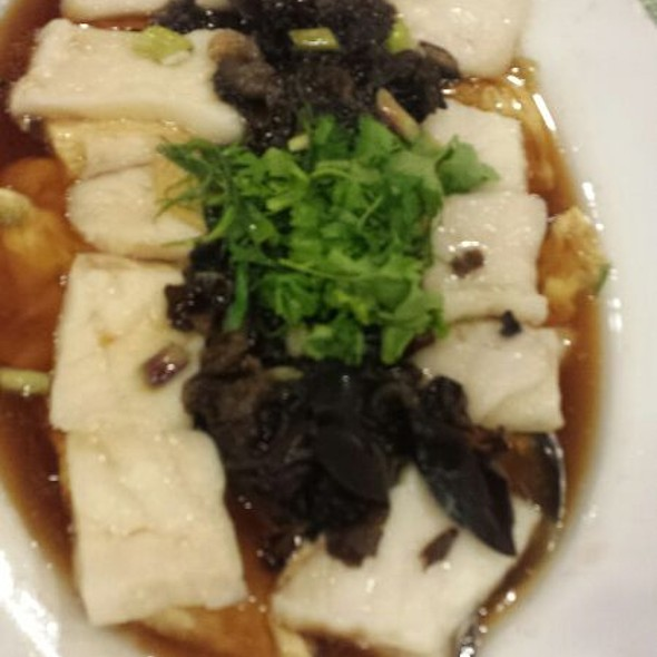 Steamed Hokkaido Cod Fish With Fresh Beancurd Skin & Black Fungus
