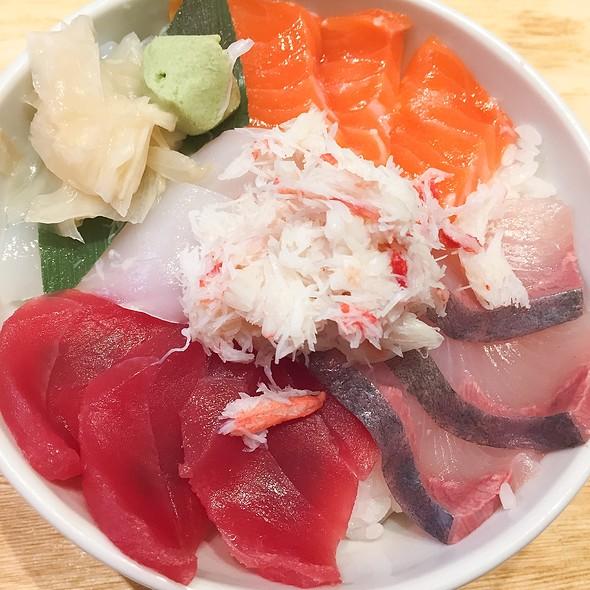 Omakase Sashimori-Don @ Tsukiji Itadori Market