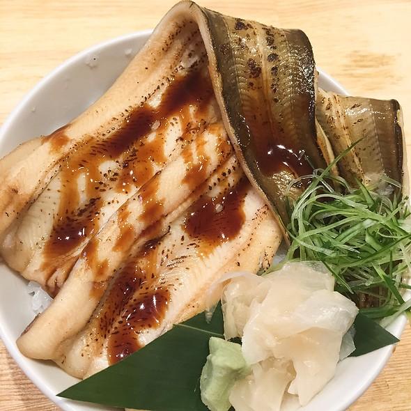 Yawaraka Anago Aburi Don @ Tsukiji Itadori Market