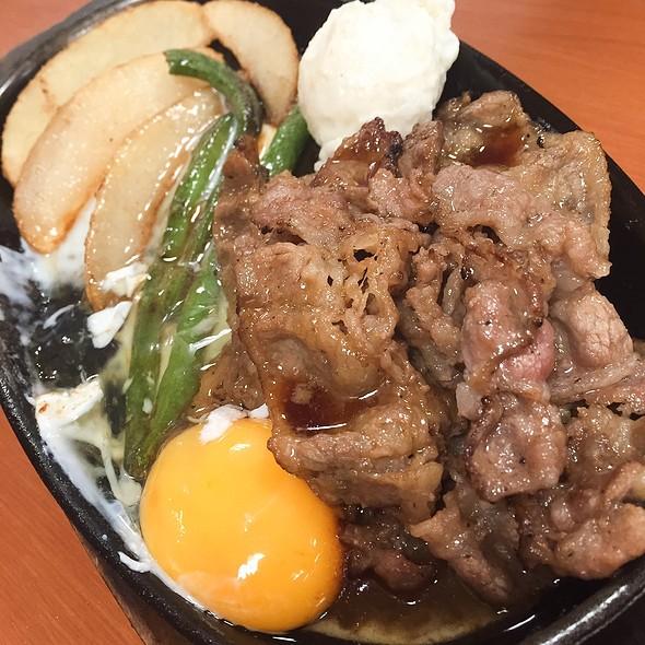 Grilled Beef Extra Egg @ Tokyo Chikara Meshi