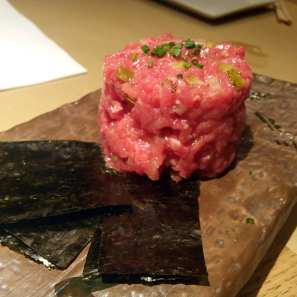 Steak Tartar @ Aiueno