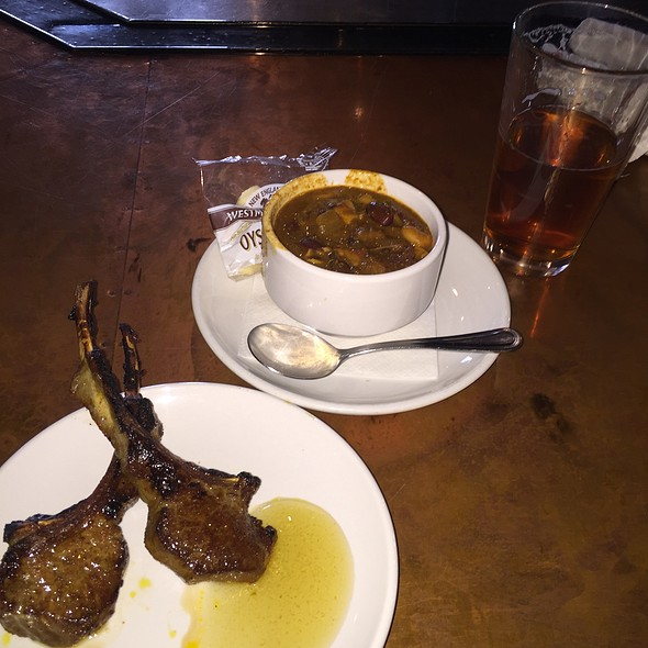Sugar Cinnamon Spice Rubbed Lamb Chops , Short Rib , Garlic Chili