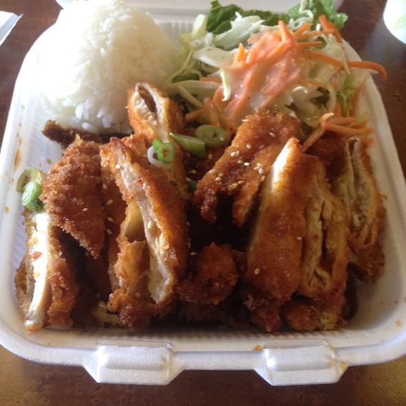 Lava chicken @ Homestyle Hawaiian