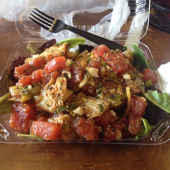 Kimchi Poke @ Homestyle Hawaiian