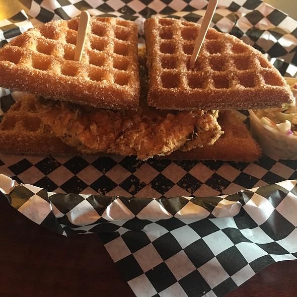 Churro Churro Waffle @ Butter And Zeus Waffle Sandwiches
