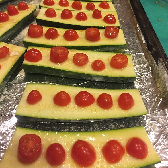 Zucchini And Tomatoes @ Mom's For Thanksgiving