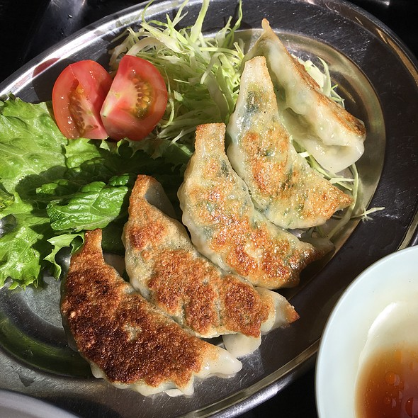 Vegetable Gyoza Pan Steamed Dumpling