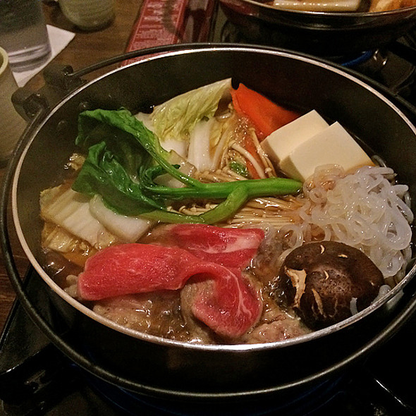 SUKIYAKI WITH RIBEYE STEAK - ALMOST READY