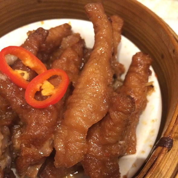Steamed Chicken Feet in Black Bean Sauce