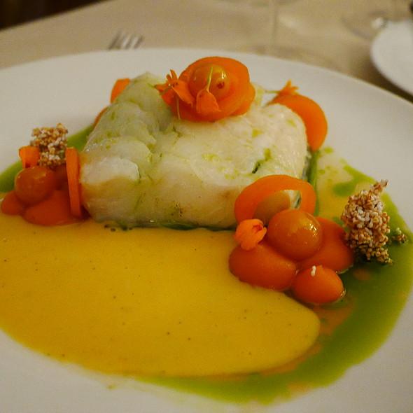 Iceland Cod, Pumpkin, Physalis, Tarragon, Brown Butter