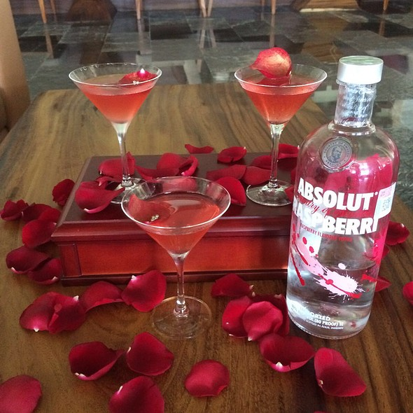 Raspberry & Rose Martini