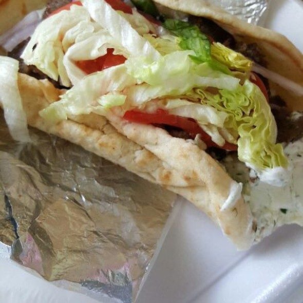 Lamb Gyro @ Jimmys Greek American Grill