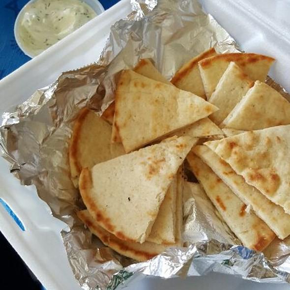 Pita Bread @ Jimmys Greek American Grill