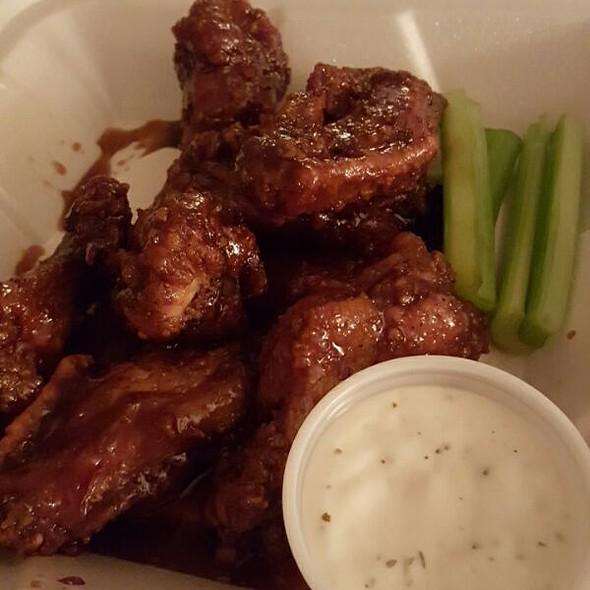 Teriyaki Chicken Wings @ Golden Lion Inn