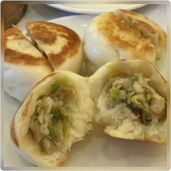 Pan Fried Steamed Pork Buns
