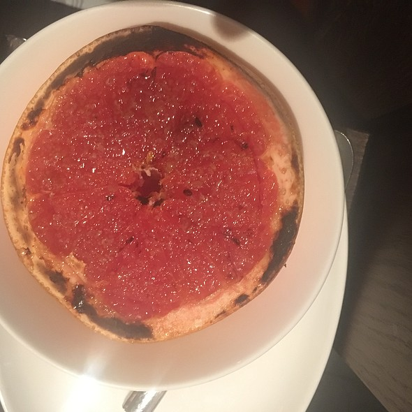 Ruby Red Grapefruit Brulee