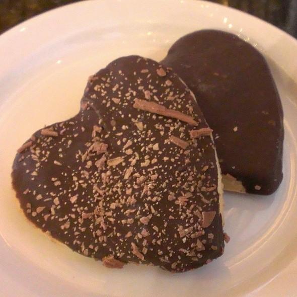 Chocolate Heart Shortbread
