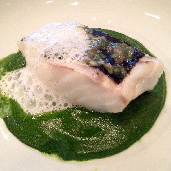 Wild Steamed Cod With Watercress Sauce