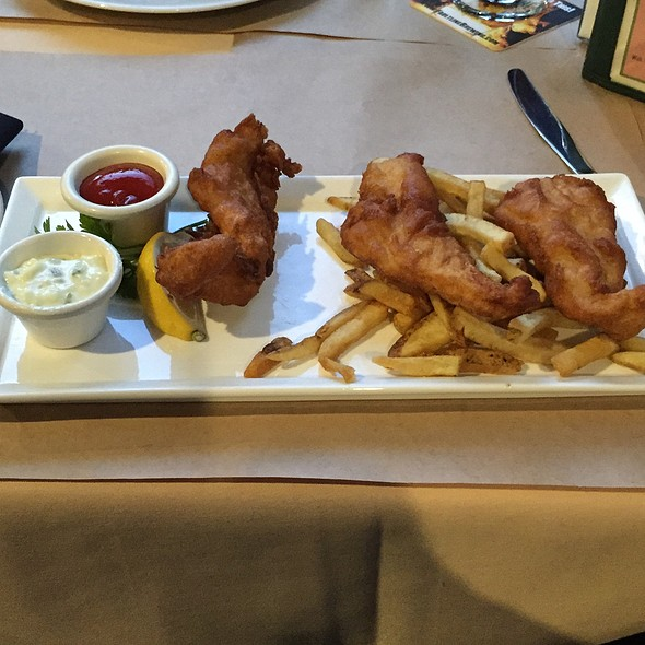 Fish & Chips @ Faultline Brewing Co