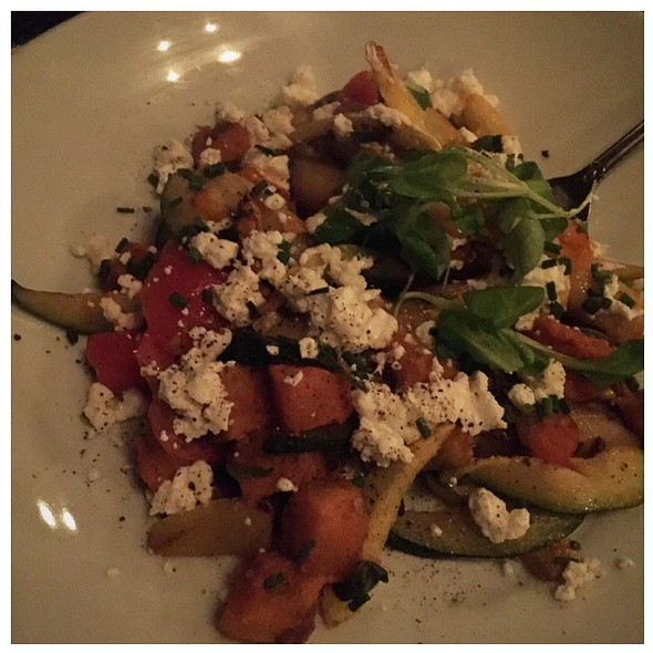 Gnocchi With Goat Cheese