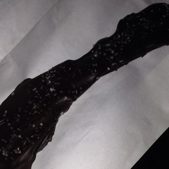 Dark Chocolate Sea Salt Covered Bacon