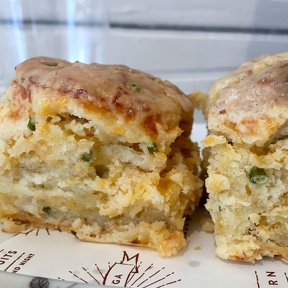 Cheese & Chives Biscuits