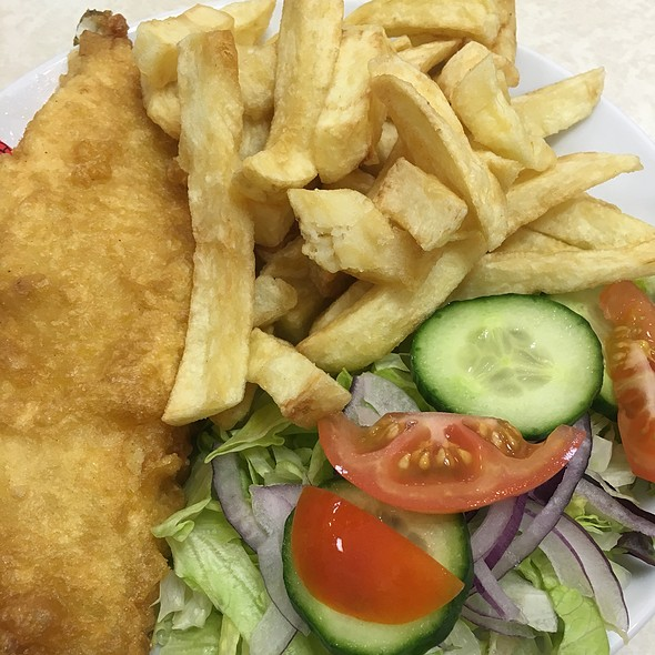 Budget Fish & Chips With Tea