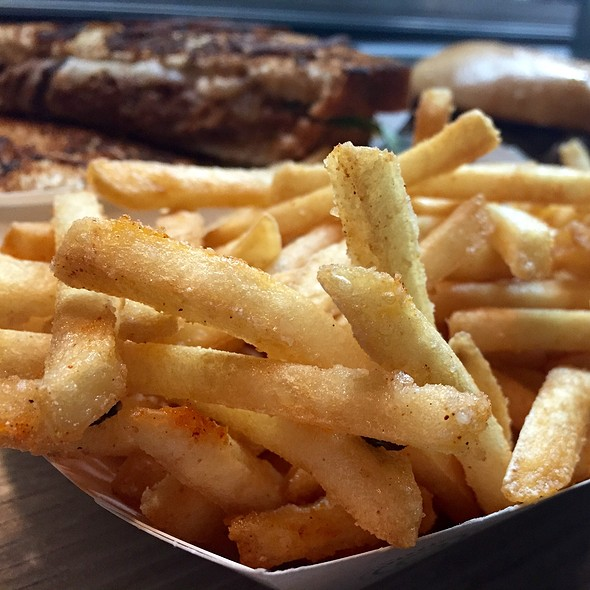 Parmesan French Fries