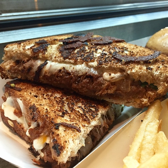 Bbq Short Rib Grilled Cheese