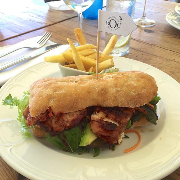 Chicken Ciabatta Sandwich @ Black Oystercatcher Restaurant