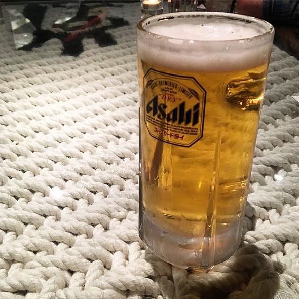 Asahi Super Dry Draft Beer