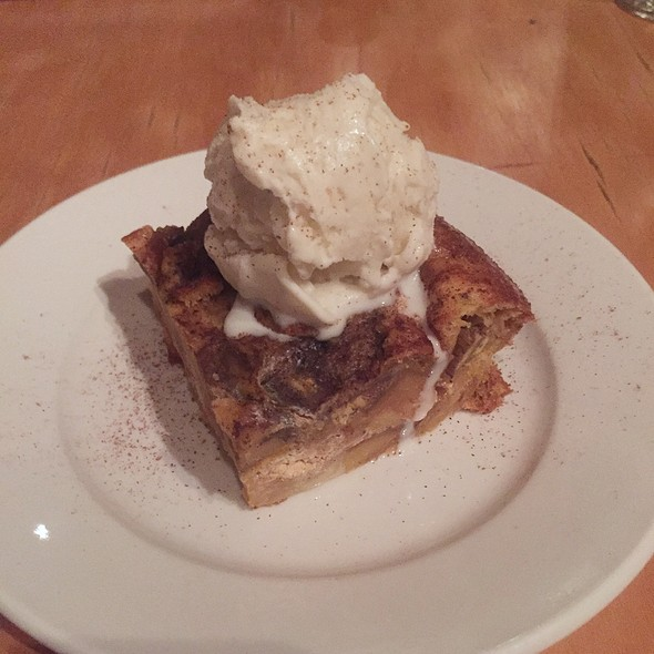 White Chocolate Banana Bread Pudding