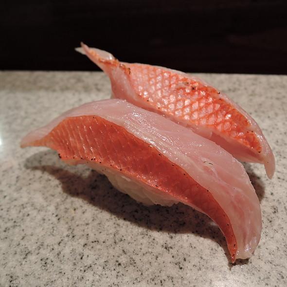 Kinmedai Nigiri @ Sushi Izakaya Gaku