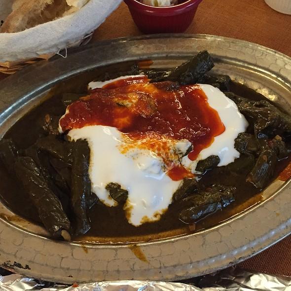 Sarma (vine leaf rolls) @ Elmacıoğlu İskender