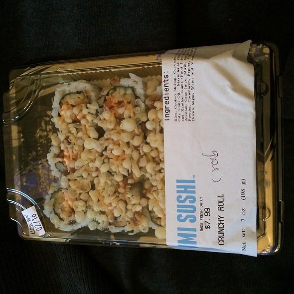 Crunchy Sushi Roll