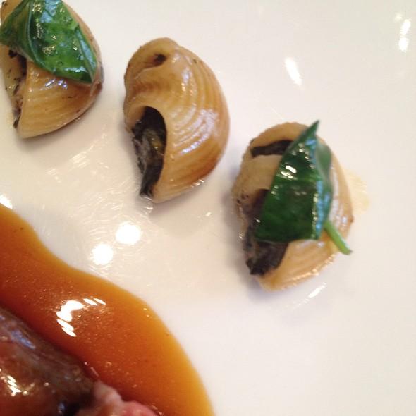 Truffle Stuffed Pasta Shells