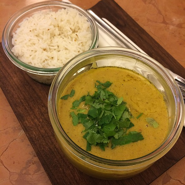 Red Lentils Curry