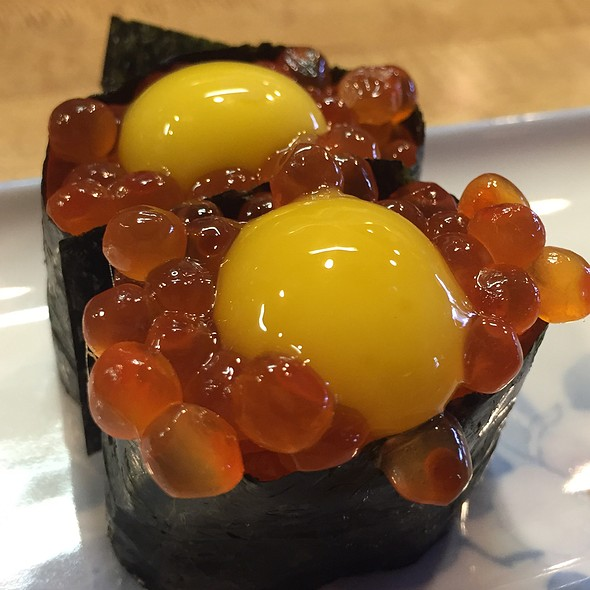 Ikura With Quail Egg