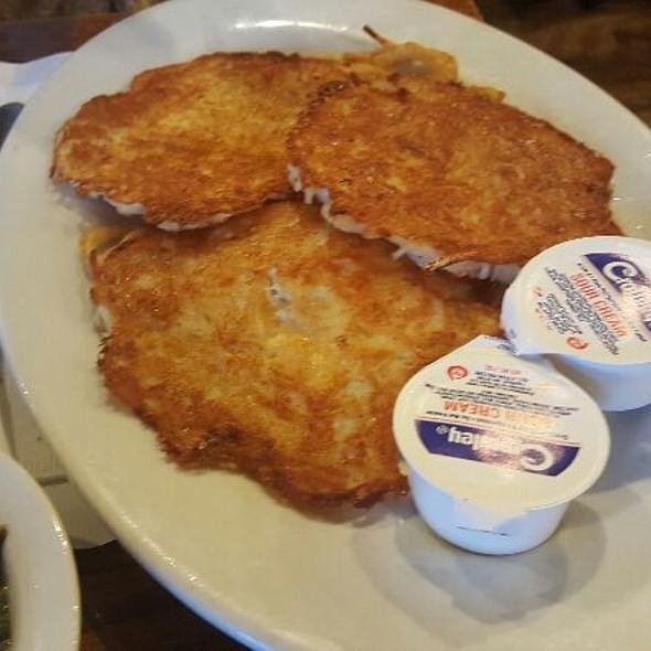 Potato Pancakes - Otto's Restaurant, Horsham, PA