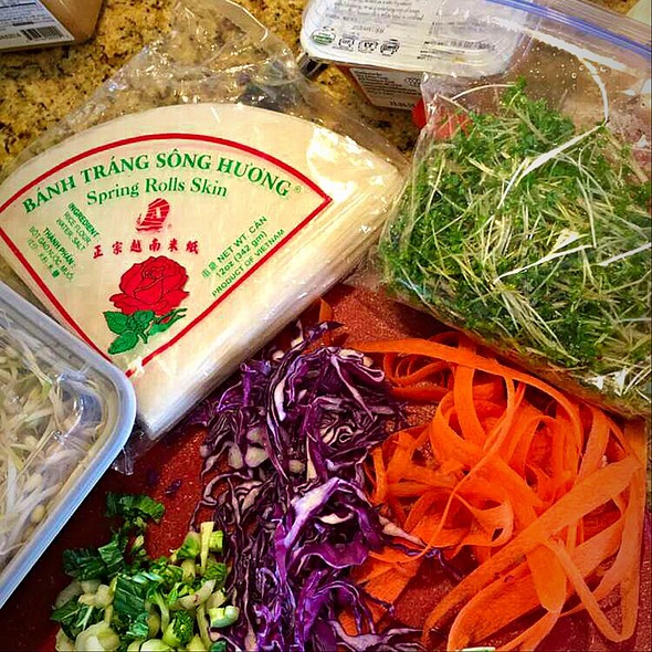 Spring Roll Fixins