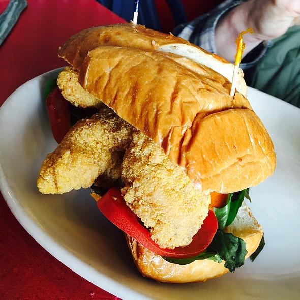 Catfish Po Boy @ Hard Knox Cafe