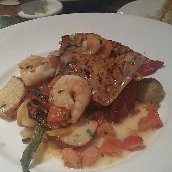 Rare Ono With Shrimp And Potatoes @ Sea House Restaurant