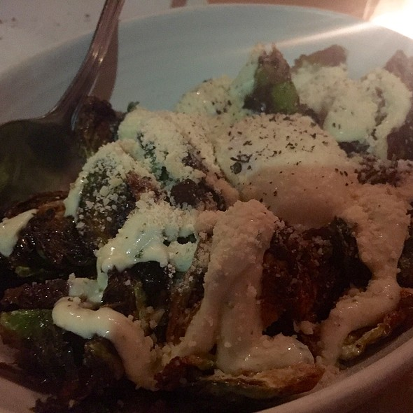 Crispy Brussel Sprouts - Osteria La Buca, West Hollywood, CA