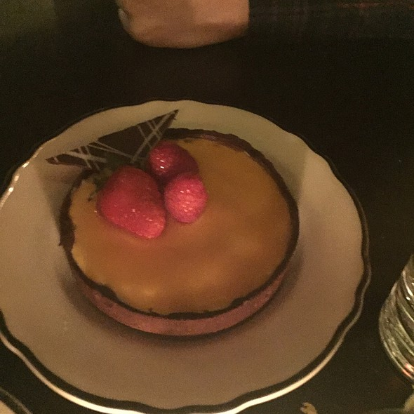 Passion Fruit Tart @ Rosebud Diner