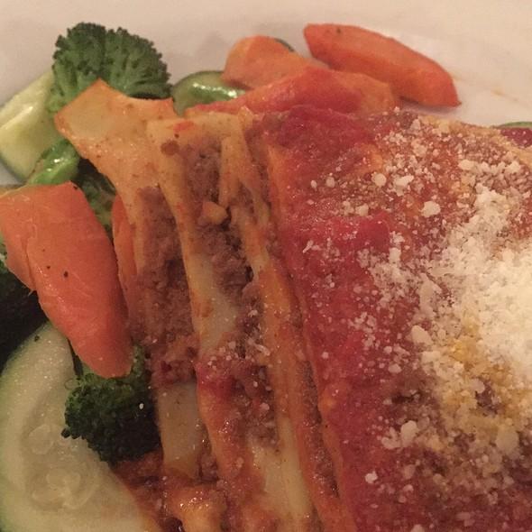 Lasagna Bolognese - Piccolo Ristorante Italiano, Menlo Park, CA