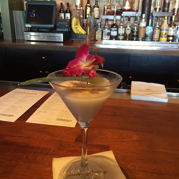Coconut Martini - Tommy Bahama Restaurant & Bar - Scottsdale, Scottsdale, AZ